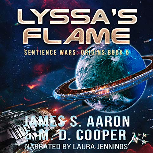 Lyssa's Flame audiobook cover art