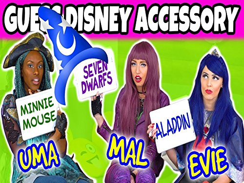 Which Disney Character Is That. We Play Mal, Evie And Uma