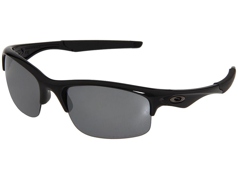 Oakley Bottle Rocket Polarized (Polished Black/Black Iridium Polarized) Sport Sunglasses
