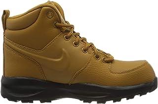 GS Dark Stucco//Wolf Grey-Cobblestone 4.5Y Boot Nike Boys Manoa 17