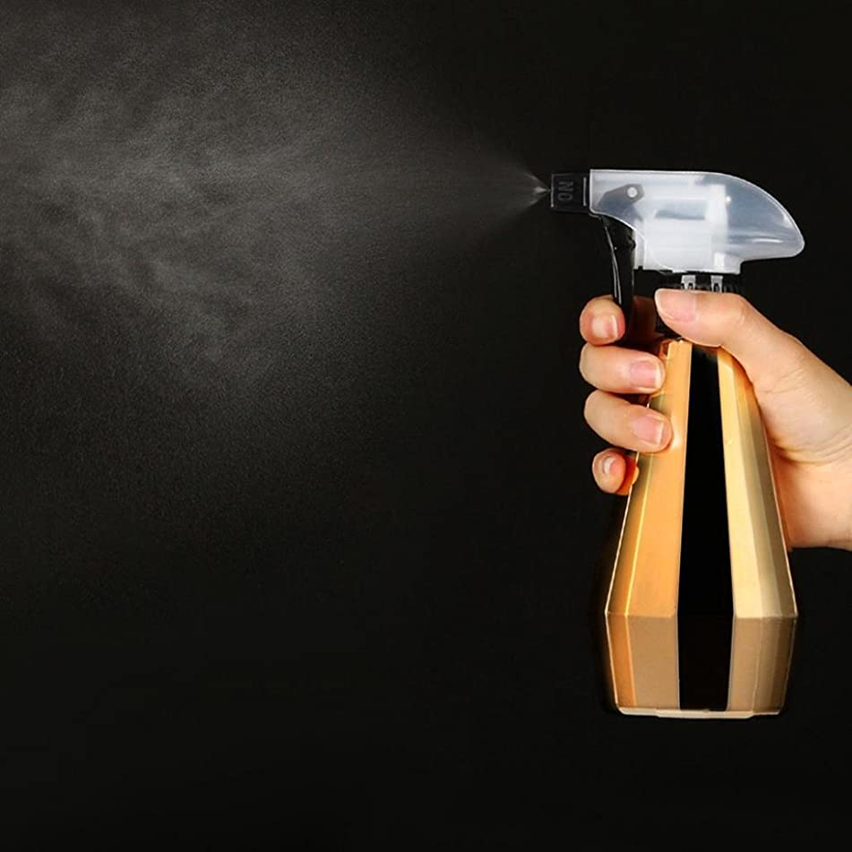 YJYDADA 450ML Hairdressing Spray Bottle Salon Barber Hair Tools Water Sprayer (D)