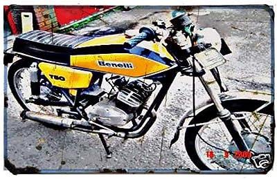 Red Rat Bultaco Pursang Mkii - Señal de Moto (A4, Aluminio ...