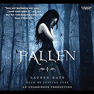 Fallen     A Fallen Novel, Book 1              De :                                                                                                                                 Lauren Kate                               Lu par :                                                                                                                                 Justine Eyre                      Durée : 10 h et 56 min     1 notation     Global 5,0