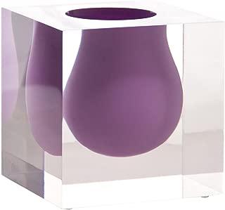 Jonathan Adler Bel Air Mini Scoop Vase, Lilac