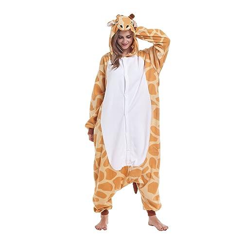 766e0c6c68 ifboxs Cow Animal Onesie Pajamas Halloween Cosplay Costume for Women and  Girls