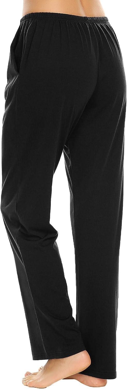 Ekouaer Pajama Pants Womens Casual Lounge Pants Soft Cotton Sleepwear Pj Bottoms S-XXL