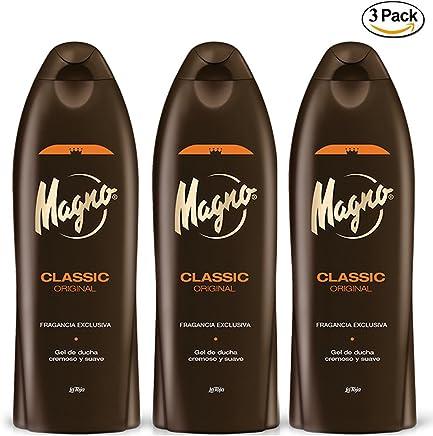 3 Bottles of Magno Shower Gel 18.3oz./550ml