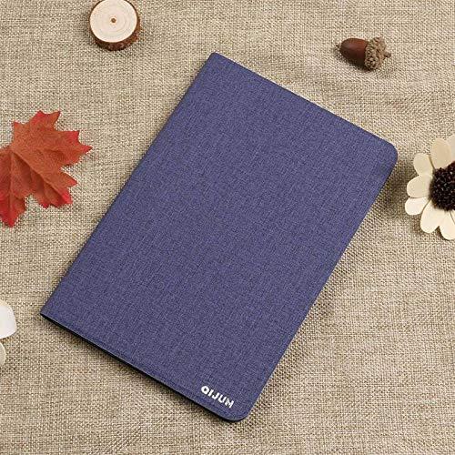 PU-Leder für Huawei Media Pad T1 10 T1-A21W T1-A21L T1-A23L 9.6 Tablet-Hülle Drehhalterung Flip Stand Leder-Hülle-Blau