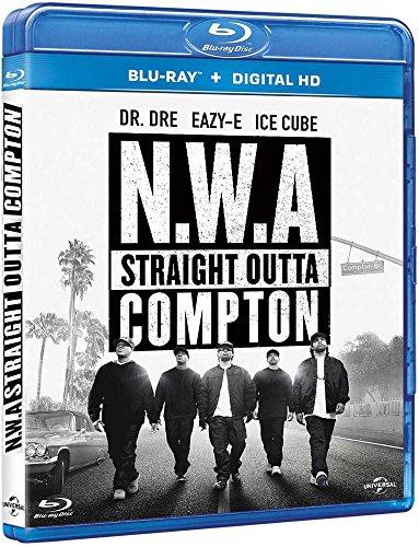 NWA လက်ျာဘက် Outta Compton [Blu-Ray + ဒီဂျစ်တယ်ကူးယူခြင်း]