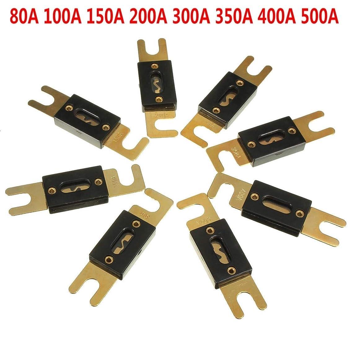 Car Audio Stero ANL Fuse Holder 100A 150A 200A 300A 400A 500A AMP Gold