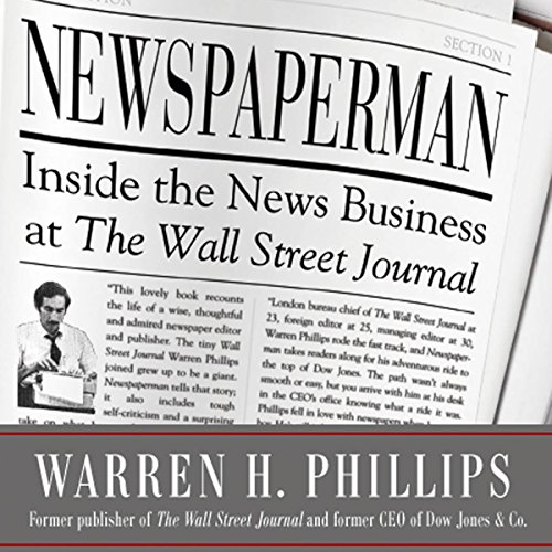 Newspaperman audiobook cover art