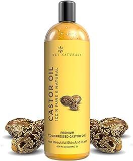 Rey Naturals Cold Pressed Castor Oil, 200ml