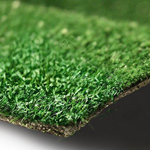 Rasenteppich Gesamthöhe 7 mm 1400 gr Gesamtgewicht Rasenteppich (100 cm x 250 cm)