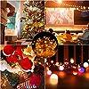 Stringa Luci Lampada a Filamento di Rame,TESECU Esterno Fata 100 Luci a LED Luci da Giardino a Batteria Decorative,Caldo Luci Interne Esterno per Decorazioni Matrimonio, Natale, Festa #1