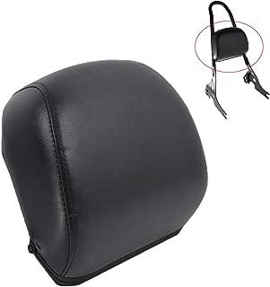 Motorcycle Black Passenger Sissy Bar Backrest Cushion Pad for Harley Sportster XL883 1200 48 04-16 15 14