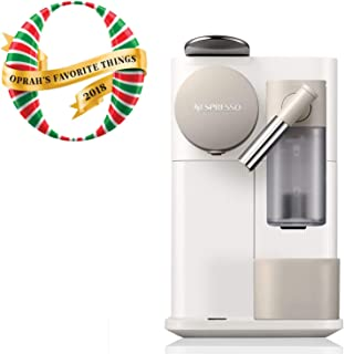 Nespresso by De'Longhi EN500W Lattissima One Original Espresso Machine with Milk Frotherby De'Longhi, Silky White