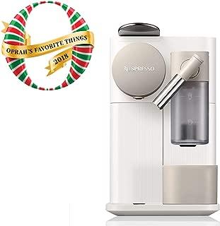 Nespresso EN500W Lattissima One Original Espresso Machine with Milk Frotherby De'Longhi, Silky White
