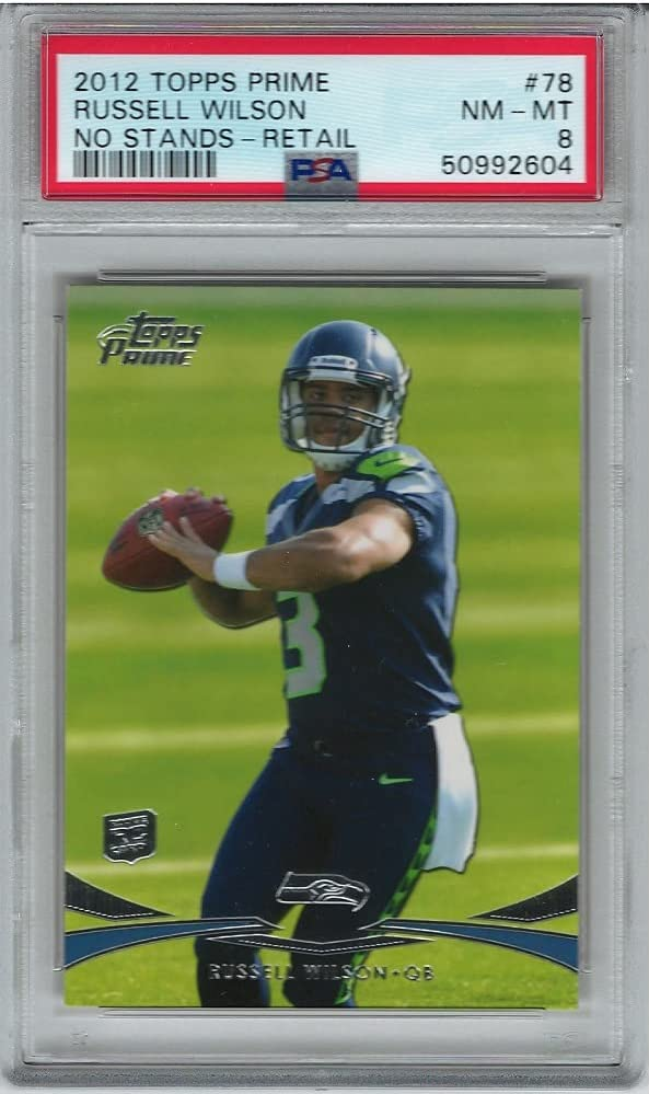 Spring new work one after another PSA NM-MT 8 2012 Topps Rookie Wilson Ranking TOP4 Prime Card Russell