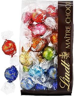 【公式】リンツ (Lindt) チョコレート リンドール 10種類アソート 詰め合わせ [人気の定番フレーバー] 個包装 30個入り (ミニリーフレット付き)