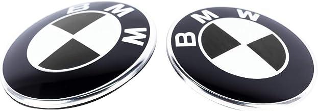 GULULU 82MM+74MM Stemma Cofano Emblema Anteriore Posteriore Badge del Bagagliaio