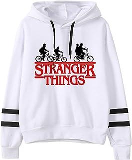 VERROL Sudadera Stranger Things para niña, Sudadera con Capucha de Stranger Things con Estampado de Letras, Sudadera Stran...