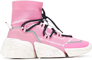 KENZO Luxury Fashion Womens F962SN450F6532 Pink Hi Top Sneakers | Fall Winter 19