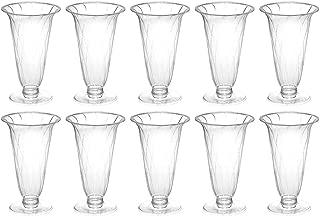 旭化成パックス 使い捨て 多機能 プラカップ 10個 (パフェ デザートカップ ワイングラス シャンパングラス) MNY-320