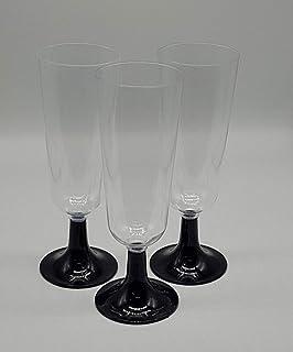 Kingfisher Plastique fl/ûtes /à Champagne Lot de 6 Transparent