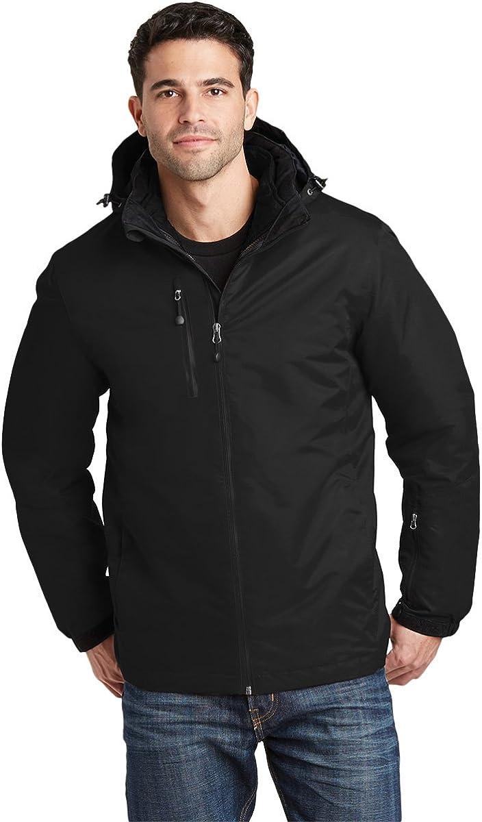 Max 71% OFF Sacramento Mall Port Authority Men's Vortex Jacket 3-In-1 Waterproof