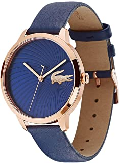 Lacoste Womens Quartz Watch, Analog Display and Leather Strap 2001058