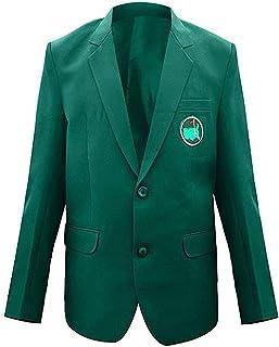 Mens Master Golf Tournament Green Blazer Coat Jacket