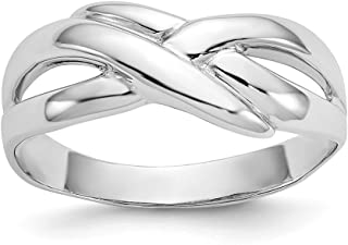 Best 14k white gold dome ring Reviews