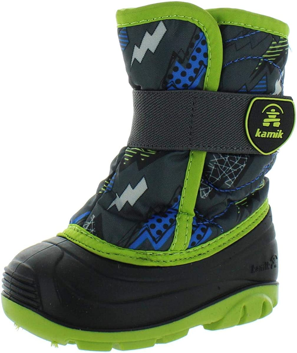 Kamik Spring new 5% OFF work one after another Infant's Snowbug4 Pull Boot On Winter Waterproof