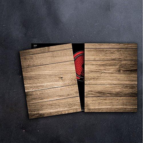 DAMU Herdabdeckplatten 2 x 40 x 52 cm Ceranfeldabdeckung Schutz Herdblende 80x52 2teilig Glas Spritzschutz Abdeckplatte Glasplatte Herd Ceranfeld Abdeckung Schneidebrett Holz Abstrakt