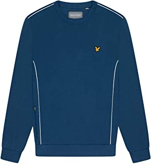 Lyle and Scott Sports Crew Neck Sweatshirt with Contrast Piping