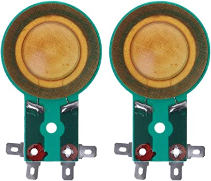 SimpleLife Haut-Parleur Audio 34 mm Film Titane//Membrane tonale Remplacement de la Bobine vocale /élev/ée Remplacement de la Bobine /à diaphragme//Bobine de Voix Triple