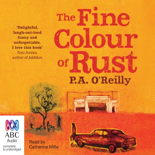 The Fine Colour of Rust audiobook cover art