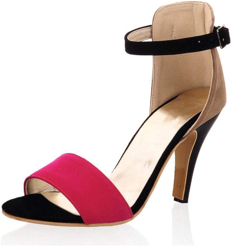 Trendy-Nicer High Heel Sandals Ankle Strap Thin Heel Sandals Open Toe shoes Women Dress Women Footwears
