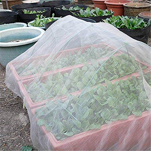 Somedays Variable Beetabdeckung Schädlingsschutz-Netz Insektennetz Schutznetz gegen Insekten,2M*1M (5 Stück)