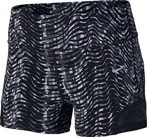 NIKE Sidewinder Epic Lux Shorts para Mujer, Negro, X-Small/3 Pulgadas