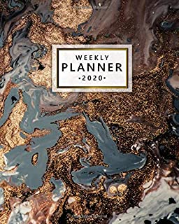 2020 Weekly Planner: Monthly Weekly Daily Views with To-Do's, Funny Holidays & Inspirational Quotes, Vision Boards, Notes...