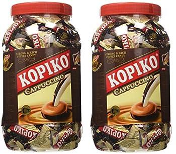 Kopiko Candy in Jar Cappuccino - 800g/28.2oz