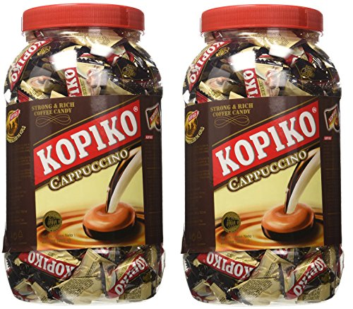 Kopiko, Candy in Jar, Cappuccino - 800g/28.2oz
