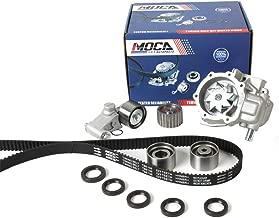 MOCA HNBR Timing Belt & Water Pump Kit for 2006-2012 Subaru Forester Non-Turbo Manual Transmission & 06-11 Impreza & Outback 2.5L H4 SOHC EJ25