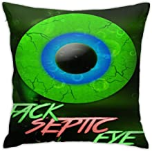 SUNERLADY Cute Jackseptic-Eye Like A Boss Home Decorative Throw Throw Pillowcase 18x18 Inch