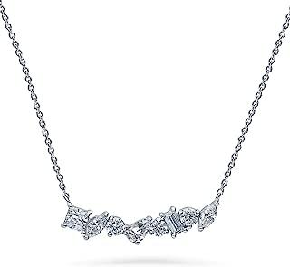 Best baguette bar necklace Reviews