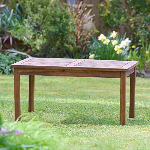 Plant Theatre - tavolino da giardino, in legno massiccio, perfetto per salottini, ottima qualità