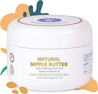 The Moms Co. Natural Nipple Butter Cream for Breastfeeding Moms (25g/0.9oz)