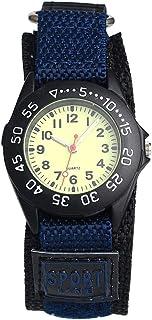 Orologio Bambino ZWRY Orologi Kid boy nylon cinturino orologio da polso per bambini orologio al quarzo orologio carino