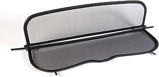 TiefTech Deflector de Viento para Ford Focus Descapotable Deflector de Viento Negro Parabrisas para descapotable - Plegable 2006-2010 Deflector de Aire con Cierre Rápido